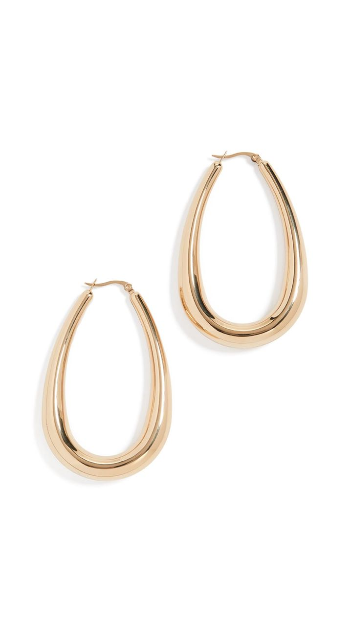 Shashi Bold & Beautiful Hoop Earrings