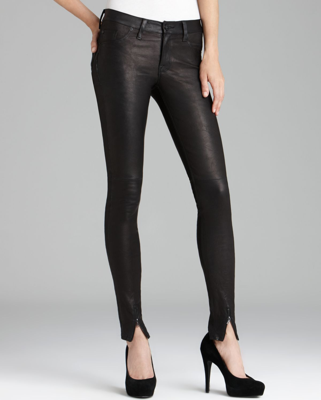 Hudson Jeans - Juliette Super Skinny Leather | Bloomingdale's