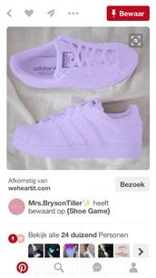 shoes,adidas shoes,lavender,purple