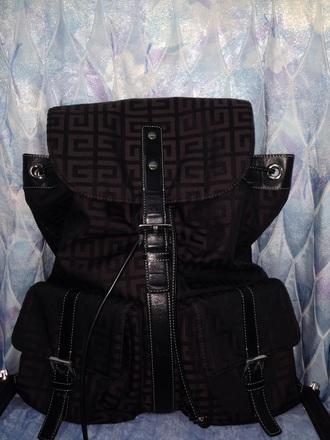 bag leather strap givenchy givenchy bag black backpack belted bag no zip