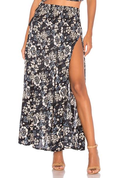 tiare hawaii skirt rock gypsy black
