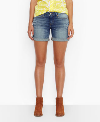 Levi's Rolled Hem Shorts - Breakers - Shorts & Capris