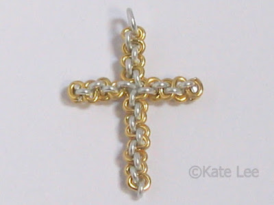 Wire Cross Pendant