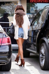 selena gomez,shorts,blouse,t-shirt,scarf,swimwear,shoes