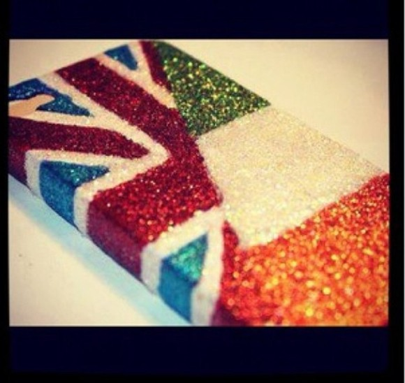 union jack jewels iphone case irish