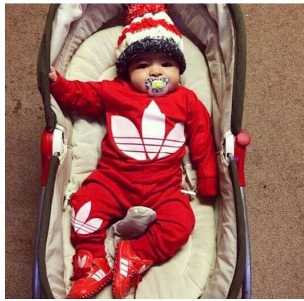 newborn baby boy adidas