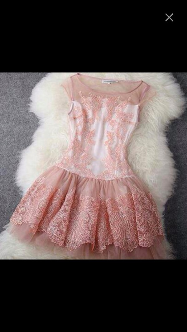 dress short lace