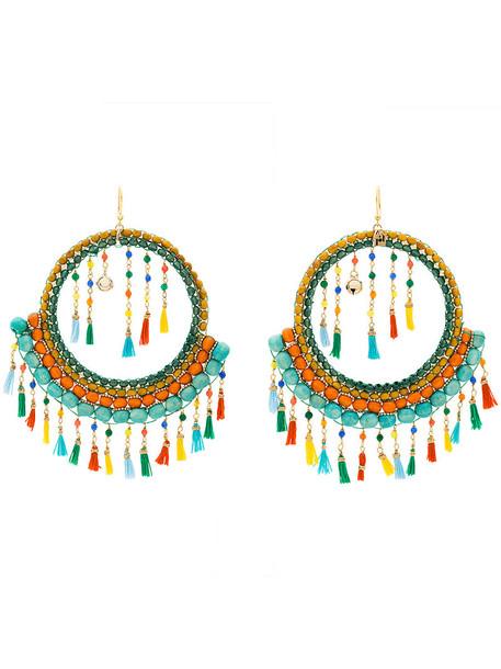 Rosantica tassel women embellished earrings jewels