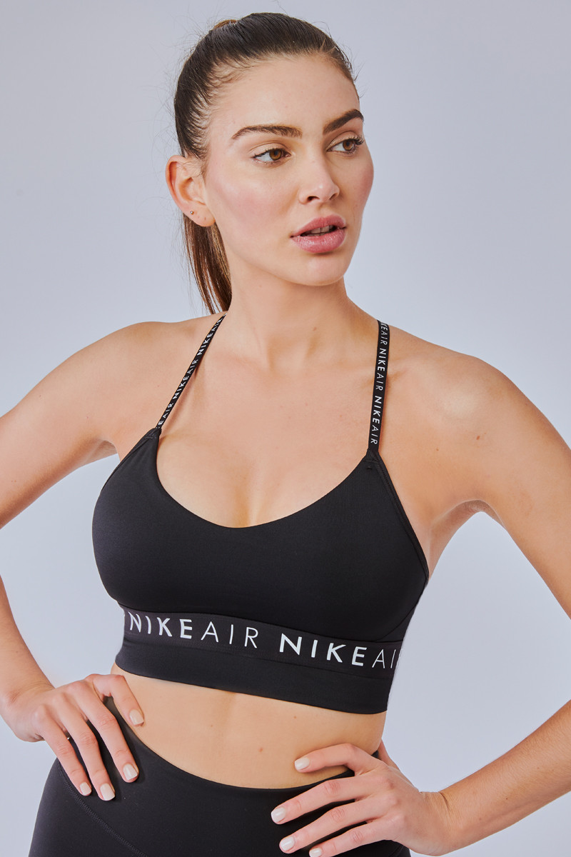 Nike Indy Air Light-Support Sport Bra in Black