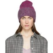 beanie,pink,grey,hat