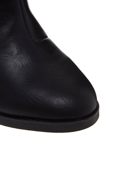 River Island   River Island Immy Quilted Heeled Ankle Boots at ASOS