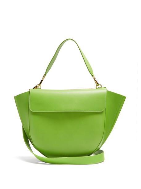 Wandler bag leather bag leather green