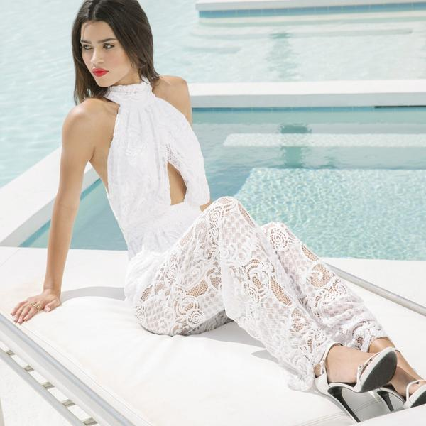Lace Jumpsuit by Kendall   Kylie