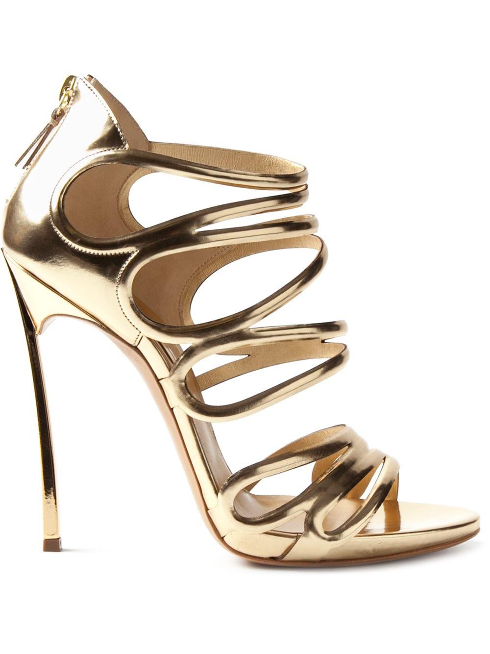 Casadei 'blade' sandals