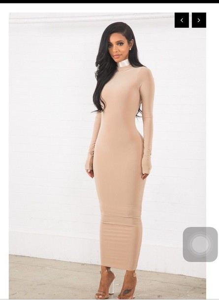Bodycon Maxi Dress