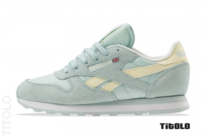 Reebok Classic Leather Seasonal M41939 Whisper Blue/Washed Yellow/White Titolo