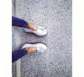 shoes,platform shoes,ballerina,ballerine,jeans