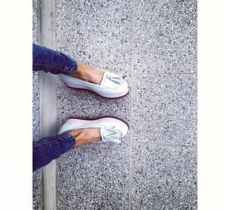 shoes jeans platform shoes ballerina ballerine