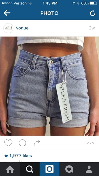 shorts high waisted denim shorts