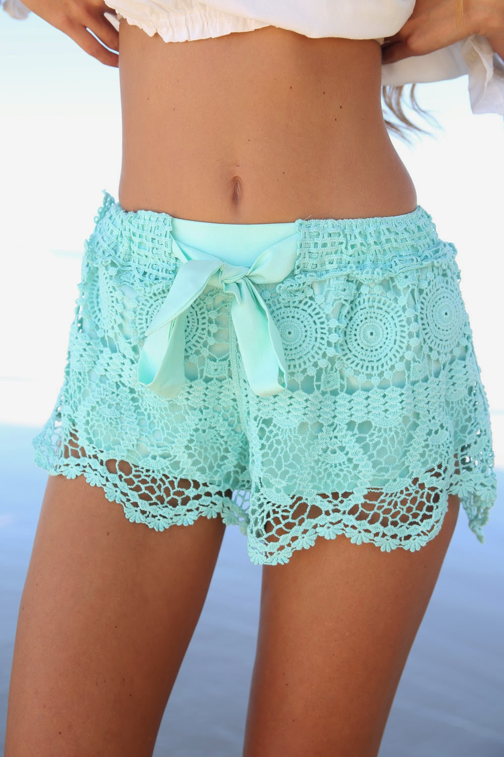 Best Selling Milla Crochet Shorts Sizes XS s M L | eBay