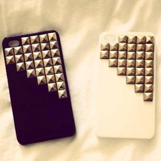 phone cover black & wihte