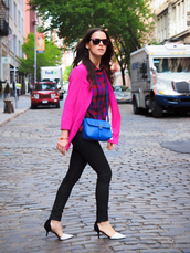 bittersweet colours,jacket,shirt,jeans,shoes,sunglasses,bag,jewels