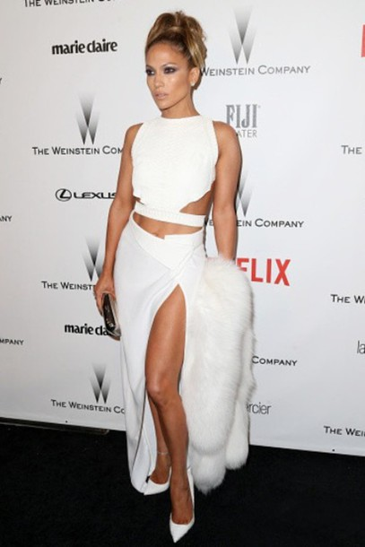 jennifer lopez skirt clutch