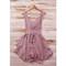 Pleated sleeveless skater dress – sirenlondon