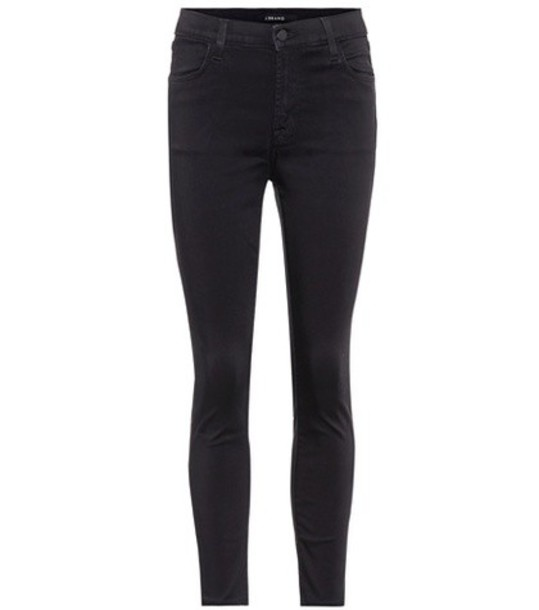 J BRAND jeans cropped jeans cropped high black