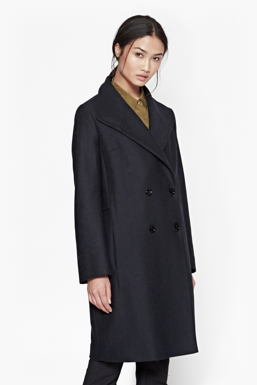 Night Wool Coat