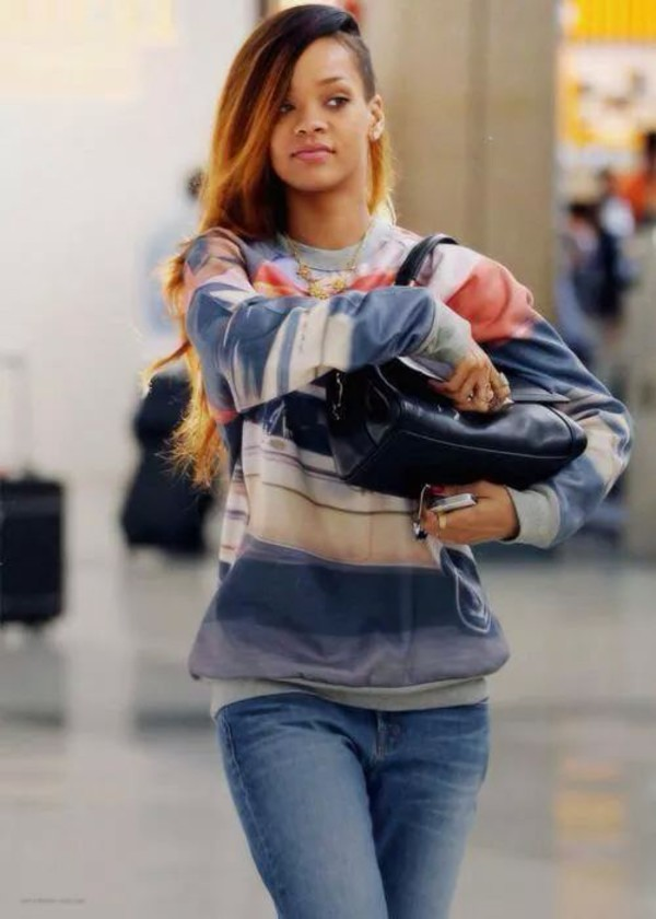 sweater rihanna swag swag