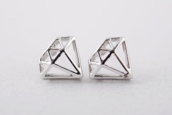 jewels diamonds earrings small earrings small jewelry metal silver silver earrings