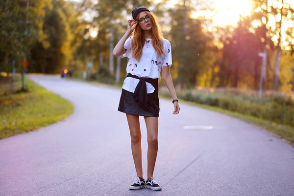ebba zingmark t-shirt skirt