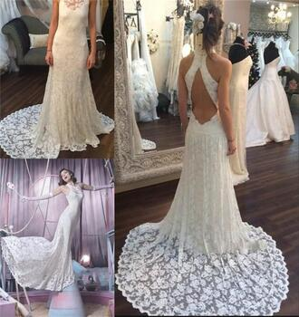 dress keyhole back wedding dresses vintage lace wedding dresses mermaid wedding dresses high neck wedding dress sexy wedding dresses 2016 wedding dresses