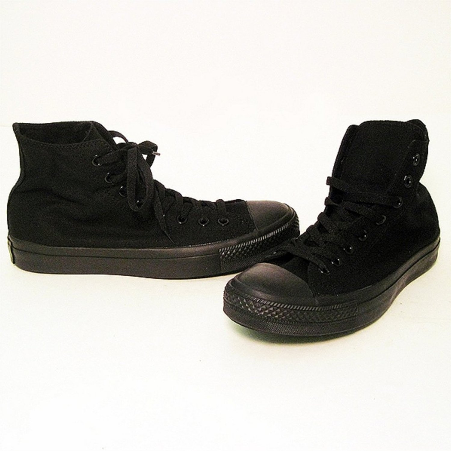 Converse black all star high top sneakers for for Converse all star amazon