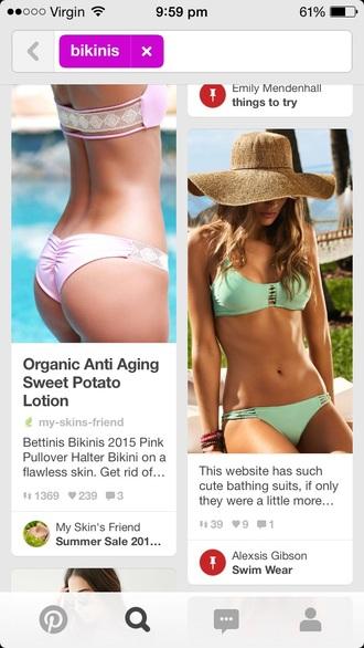 swimwear bikini bikini top bather top