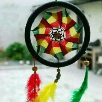 home accessory rasta jamaica dreamcatcher jewels hair accessory