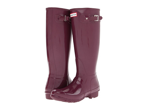 Hunter Original High Gloss Dark Ruby - Zappos.com Free Shipping BOTH Ways