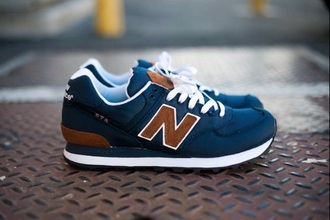 shoes new balance blue shoes 574