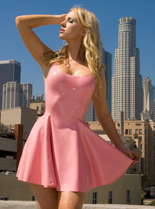 - Latex Swing Dress
