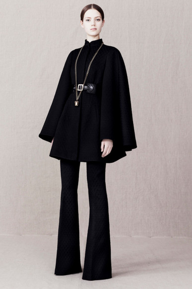 fashion lookbook alexander mcqueen coat