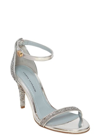 glitter metallic sandals leather sandals leather silver shoes