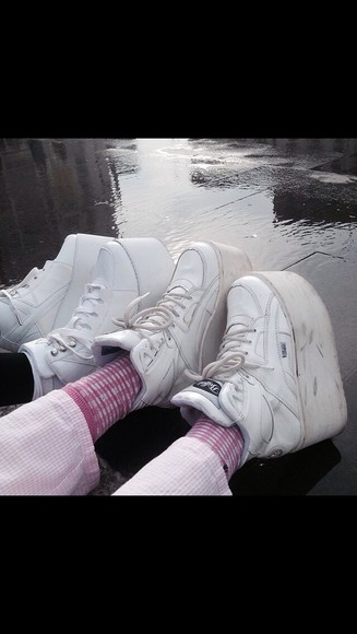trainers grunge shoes grunge indie platform shoes punk tumblr
