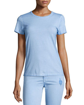 t-shirt blue top blue tshirt