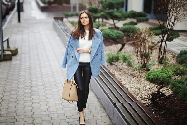 fashion agony coat sweater pants bag shoes jewels