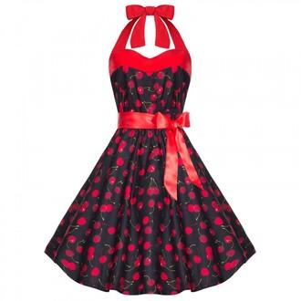 dress polka dots dress cocktail dress vintage dress