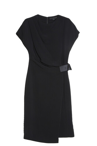dress draped dress draped black
