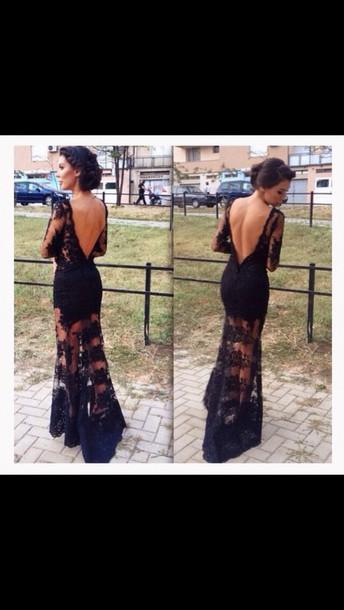 dress lace dress black dress black lace dress