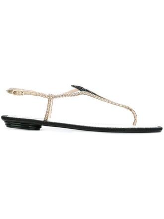 embellished sandals flat sandals black shoes