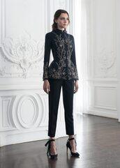 shoes,heels,black heels,Paolo Sebastian,model